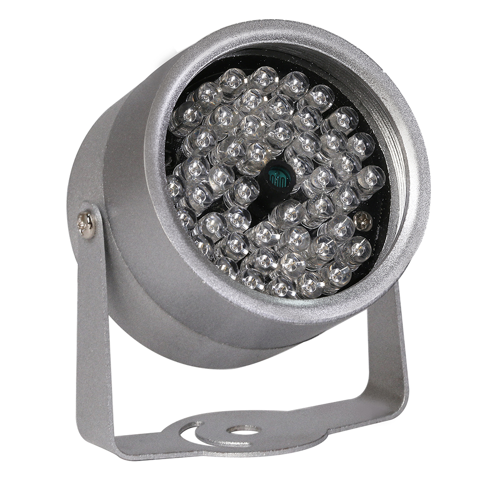 48 LED illuminator Light CCTV IR Infrared Night Vision outdoor metal with waterproof For Surveillance Camera cctv camera smar outdoor bullet ip camera sony imx323 sensor surveillance camera 30 ir led infrared night vision cctv camera waterproof