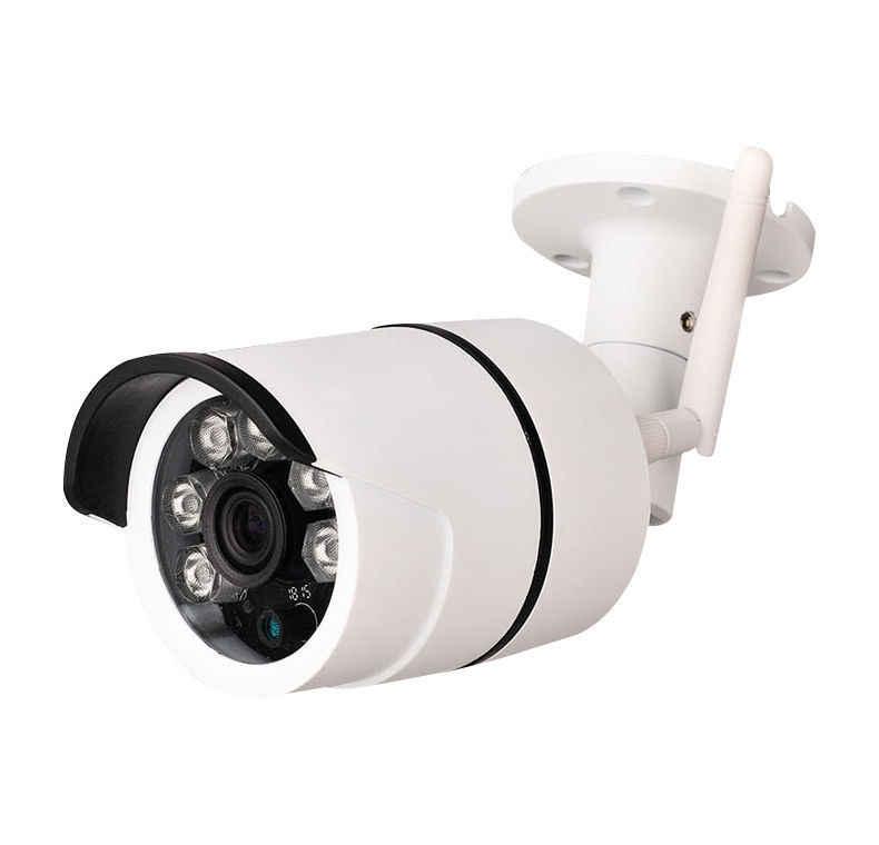 CCTV наружная Водонепроницаемая пуля ip-камера Wifi беспроводная камера видеонаблюдения S слот для карт памяти CCTV камера ночного видения