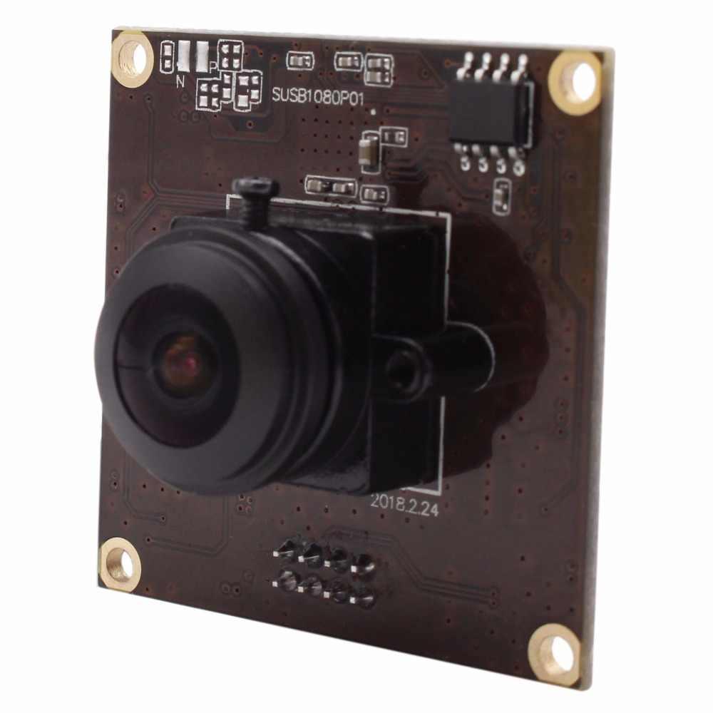 Широкоугольный объектив USB3.0 Камера 1080 P MJPEG YUY2 50fps 1920*1080 sony IMX291 180 градусов Рыбий глаз USB3.0 Камера модуль с usb провод