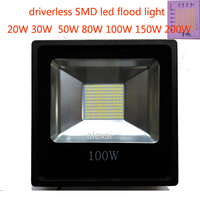Led Flood Light 220V 200W/150W/100W/60W/30W/15W Floodlight Watts Led Spotlight Projector Outdoor Security Waterproof IP65