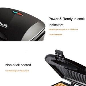 Image 5 - חשמלי הוופלים יצרנית ברזל כריך מכונה מחבת טפלון בועת ביצת עוגת תנור ביתי ארוחת בוקר ופל מכונת Sonifer