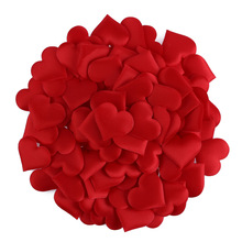 Heart-Shaped Petals Wedding-Decorative Birthday-Table Handmade Love Party for DIY 100pcs/Lot