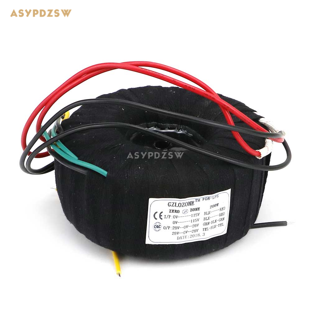 200VA Black cloth toroidal transformer 200W High power transformer for NAP140 amplifier dedicated 25V-0-25V*2 toroidal transformer ring copper custom transformer 54va toroidal output 12vac 0 12vac 12vac for 1969 power supply amplifier