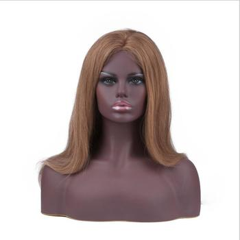 Afro-American Female Realistic Manikin Head Bust Sale For Jewelry Hat Earring Lace Wig Display Cabeza Maniqui head mannequin