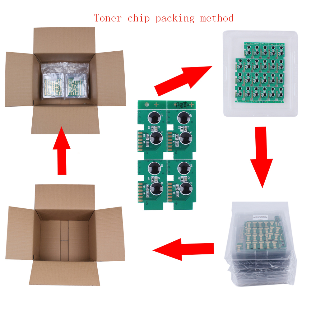 Free shipping 100K Drum unit chip MLT R303 laser printer Chip for Samsung SL M4580FX in Cartridge Chip from Computer Office