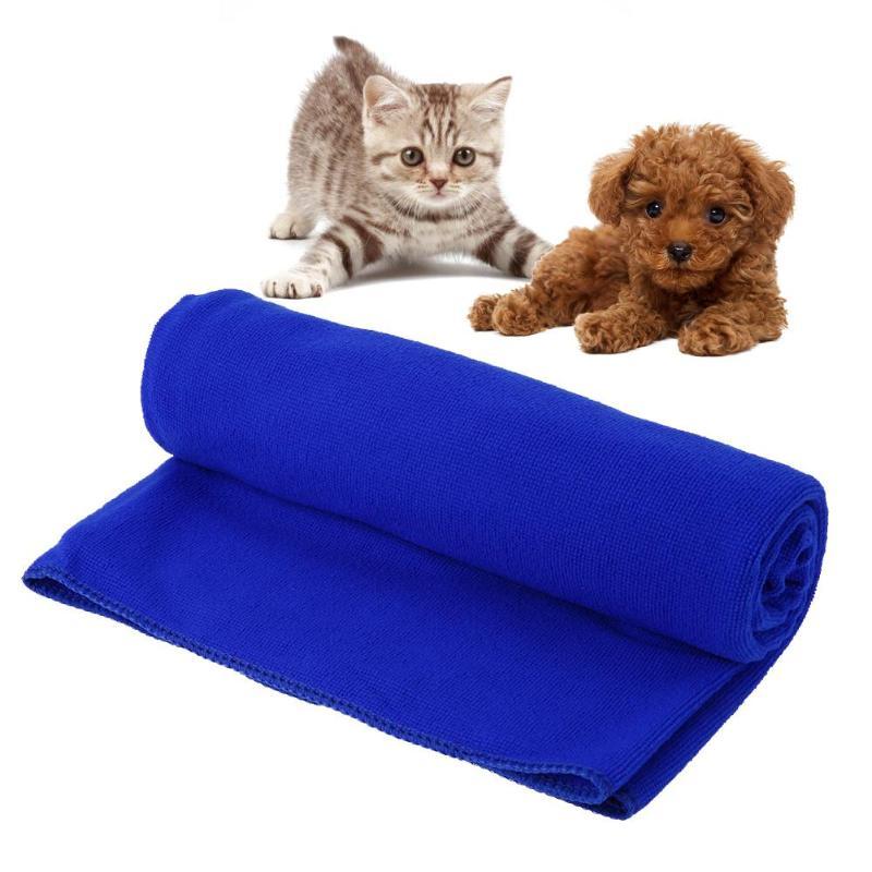 60x160cm Pet Towel Superfine Fiber Water Absorption Dogs Cats Towel Wash Bath Towels Pet Supplies Goods Accessories D3