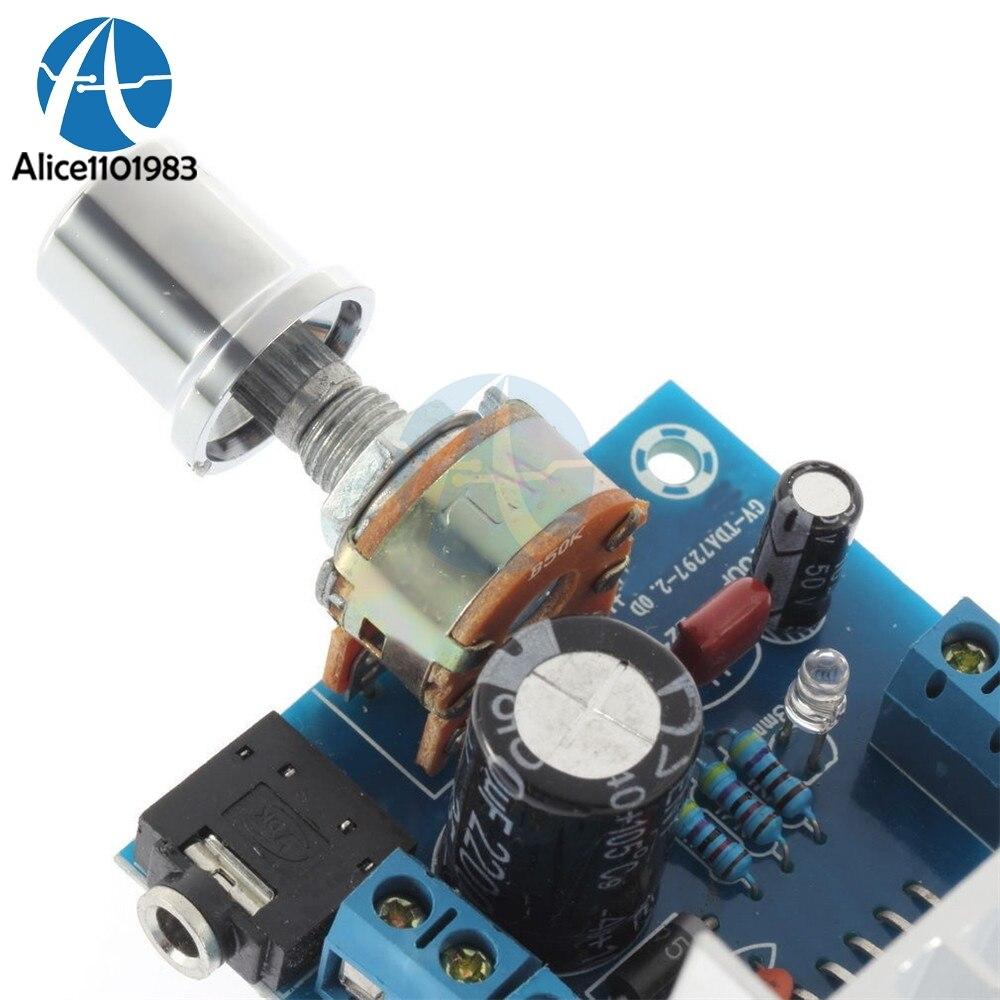 Version B TDA7297 2 x 15W Audio Amplifier Board Dual-Channel AC//DC 12V GV