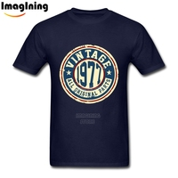Retro Classic 40th Birthday Gift Vintage 1977 All Original Parts T Shirts Casual Man Custom Pure