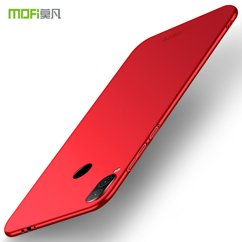 MOFi For Xiaomi Redmi Note 7 Pro Cover Phone Case Ultra Thin Slim Cover Cases For Redmi Note 7 Pro Protective Back Cover Shell in Half wrapped Cases from Cellphones Telecommunications