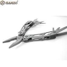 10 teile/los Ganzo Multi Zange G202 24 Werkzeug in Einem Hand Werkzeug Schraubendreher Kit Tragbare EDC multitool Tasche Folding Messer zangen