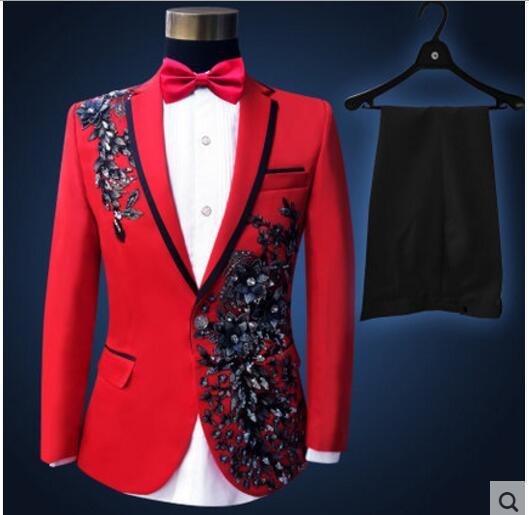 (xhaketë + pantallona + lidhëse me hark) kostum mashkull i vendosur - Veshje për meshkuj - Foto 6