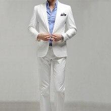 Hot Sale Cheap Fashion Men's Elegant Wedding Suits High Quality Slim Fit Business Formal Dress Suits For Man(Jacket+Pants)