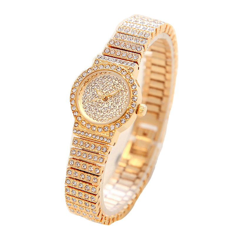 new top small dial Women Rhinestone Watches Lady Dress Women watch Diamond  brand Quartz Wristwatch Clocks Bracelet Crystal -in Lover s Watches from  Watches ... 31b3b3be31c2