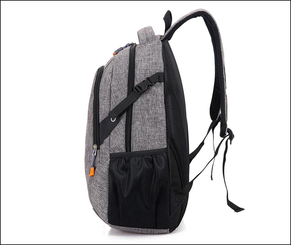 Unisex School Bag Waterproof Nylon Brand New Schoolbag Business Men ... fb1a9eff7c15c
