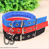 Regulated 32-42cm Length Dual Layer Super Comfort Foam Cotton Nylon Strap Pet Collar for Small and Big Dogs Collars arnes perro