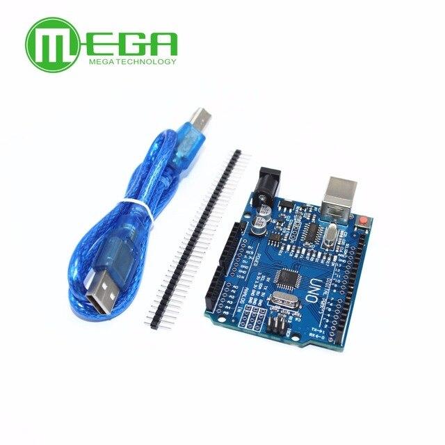 Neue 5 satz/los UNO R3 MEGA328P CH340G mit usb kabel (Kompatibel)