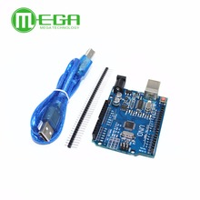 New 5set/lot UNO R3 MEGA328P CH340G with usb cable (Compatible)
