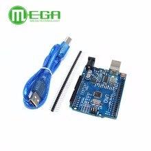 Nuevo 5 pzas/lote UNO R3 MEGA328P CH340G con cable usb (Compatible)