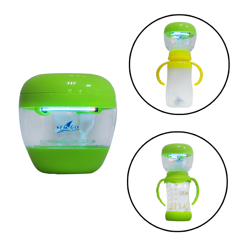 Warmers Sterilizers Electric Portable UV Baby Pacifier Sterilizer Nipple Feeder Bottle Feeding Cup Clean Silicone Toothbrush kid