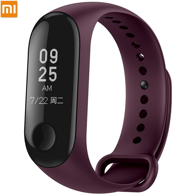 Original Xiaomi pulsera para mi banda 3 NFC deporte correa de reloj de la correa de muñeca de silicona para mi banda 3 accesorio pulsera mi band3 Correa