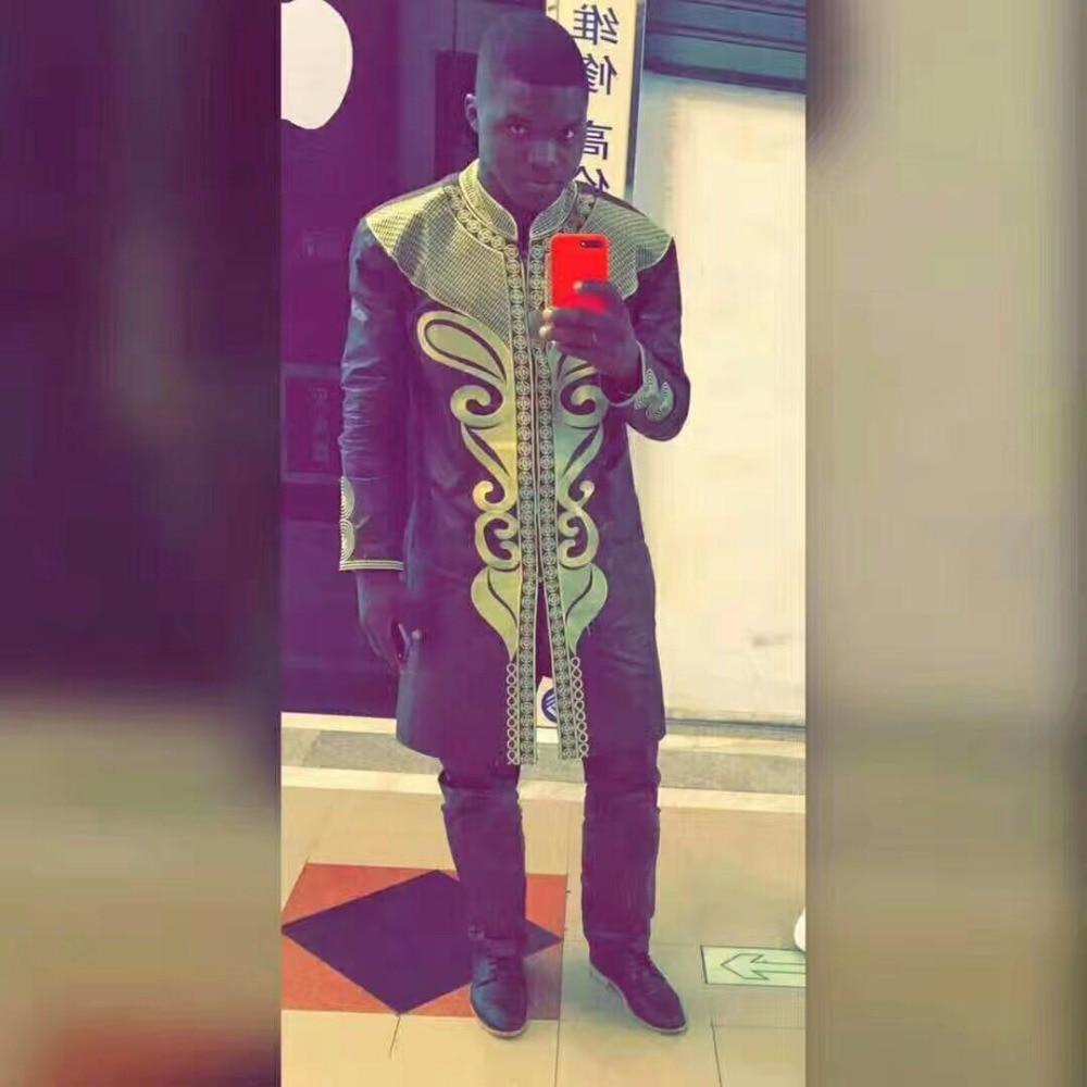 PH37 Dashiki Άνδρες ρούχα αφρικανική ρούχα - Εθνικά ρούχα
