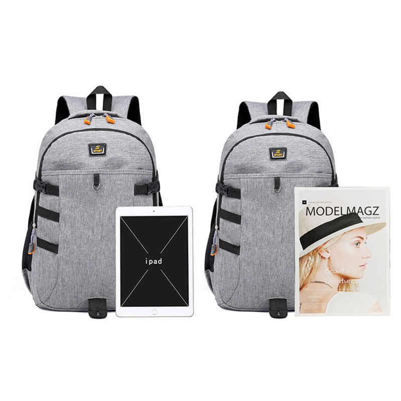 New Backpack Men School Bag For Ager Designer Brand Waterproof Laptop Backpacks Women Large Capacity