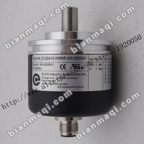 EC50A10-H6M8R-600.9M5004 Elco codificador rotatorio óptico 600 eje sólido