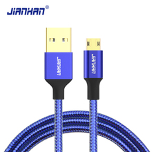 JianHan Reversible Micro USB Cable Charger Data Sync Fast Charging Cables for Xiaomi,Samsung Galaxy S6,LG,Sony Android Phone
