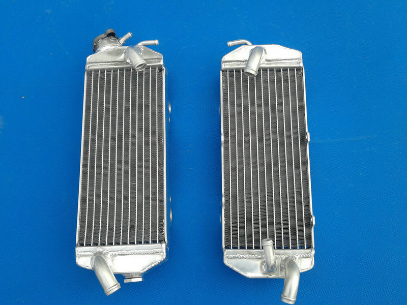 Aluminum radiator For KTM 400 450 520 525 MXC EXC 2001 2002 01 02 BRAND NEW-in Oil Coolers from Automobiles & Motorcycles    1