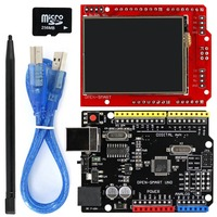 2 2 Inch TFT LCD Display Module Touch Screen Shield UNO R3 Kit With USB Cable