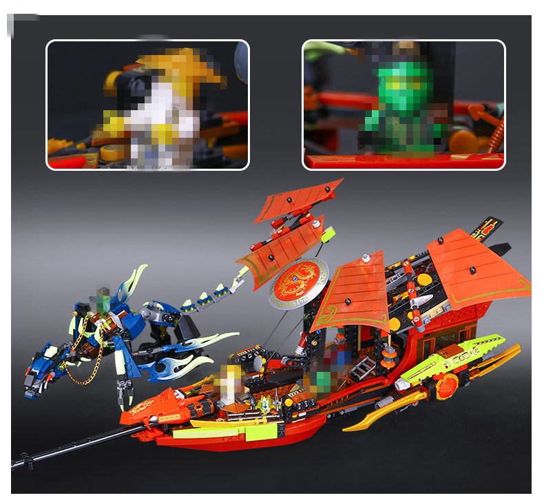 New  Building Blocks Final Fight of Destiny's Bounty Blocks Kid Bricks Toys Compatible with Lepin 06020 funny boy gift black pearl building blocks kaizi ky87010 pirates of the caribbean ship self locking bricks assembling toys 1184pcs set gift
