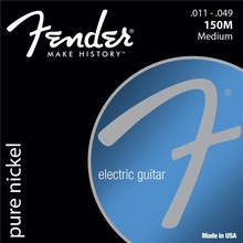 Fender 150's Original Pure Nickel Electric Guitar Strings – 150XL 150L 150R 150M