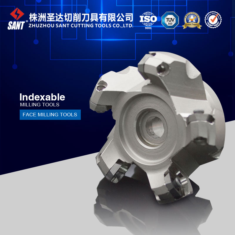 Indexable milling cutter milling tools Match insert SEET12T3 face cutter cutting disc FMA01-063-A22-SE12-05/AF01.12A22.063.05