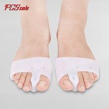 Разделяющий гель pcssole hallux вальгус палец ноги защита для