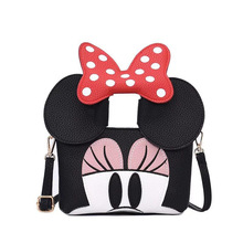 2019 Fashion Design Women Mickey Shaped Bag Cute Funny Women Evening Bag Clutch Purse Chain Shoulder Bag for Birthday Gift