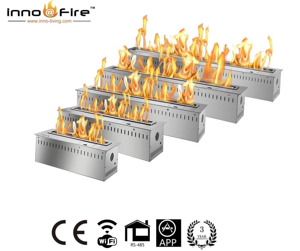 Inno Living Fire 60 Inch  Etanol Chimenea With Remote Control