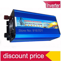 Free Shipping, Off Grid Tie Inverter 2000W DC12V/24V Pure Sine Wave Inverter for Wind Solar System