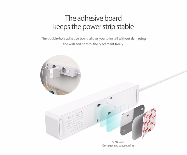 Home Office Electronic Power Strip Socket