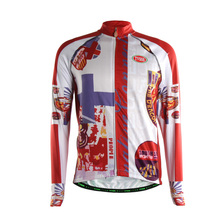 TVSSS Men Long Sleeve Winter Cycling Jerseys British Style Design