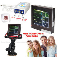 PM60D Contec Patient Monitor 4 Parameters Vital Signs Monitor ECG NISP SPO2 PR