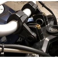 KEMiMOTO For BMW For Yamaha For Honda Universal Handlebar Riser Bars Clamp 7 8 22mm 1