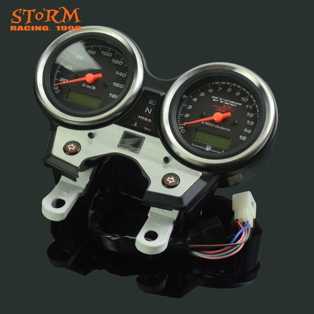 Motorcycle Speedometer Tachometer Odometer Display Gauges For Honda CB400 SF CB400SF VTEC II 2002 2003 motorcycle front fender mudguard for honda cb400 vtec 1 2 3 4
