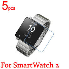 5pcs Ultra Clear Matte Nano Anti Explosion LCD Screen Protector Film Cover For Sony SmartWatch 2