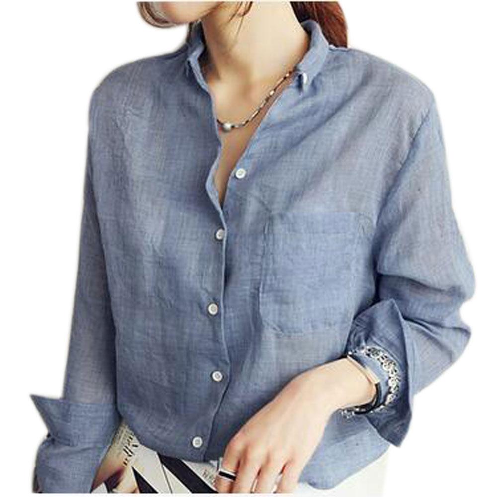 Vetement Femme Long Sleeve Shirt Women Cs