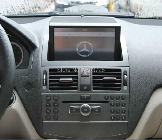 Navigation for mercedes w204 mercedes benz c class car for Mercedes benz truck radio code