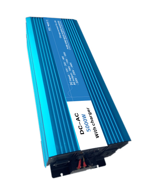 5000W Pure Sine Wave Inverter,DC 12V/24V/48V To AC 110V/220V,off grid UPS solar inverter,voltage converter with charger and UPS