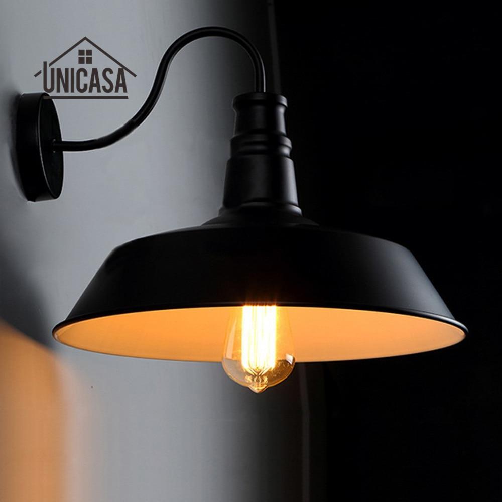 Vintage Wall Lights Kitchen Hotel Antique Metal Wall Sconce Kitchen Hotel Industrial Chandelie Lighting Modern Indoor LED Lamp