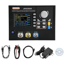 Dual-channel DDS Function Signal generator JDS2800 AC100-240V Arbitrary Waveform Signal Generator + Software