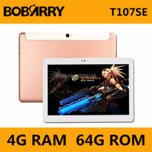 Bobarry 10 pulgadas octa core android 6.0 3g de la tableta 4g ram 64G rom Elegante androide Tablet PC Tablet 10.1 MTK MT8752