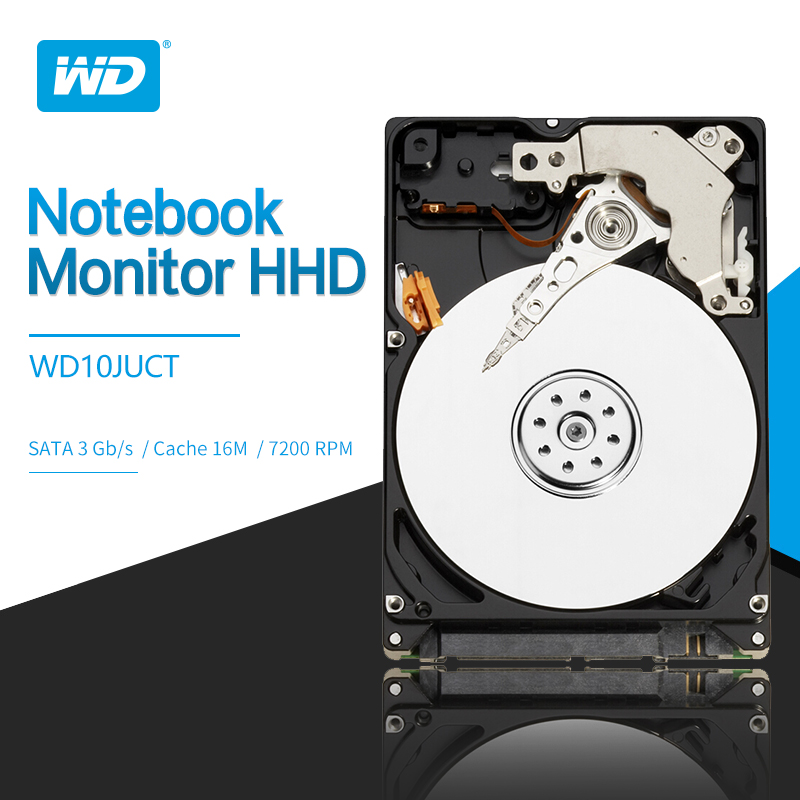 Western Digital Wd 1 Tb 2,5 video Überwachung Hdd 16 Mb Sata Interne Festplatte Für Sicherheit Wd10juct Externer Speicher